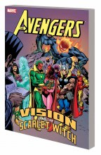 Avengers Vision and Scarlet Witch TP New Ptg