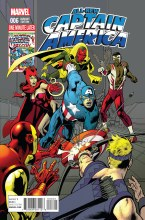 All New Captain America #6 Nowlan Avengers Var