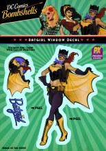 DC Bombshells Batgirl Px Vinyl Decal