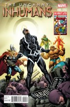 Uncanny Inhumans #0 Perkins Avengers Var