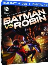 Dcu Batman Vs Robin Bd + Dvd (