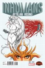 Inhumans Attilan Rising #1 Johnson Design Var