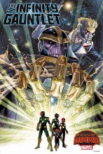 Infinity Gauntlet #1 Secret Wars by Weaver Poster