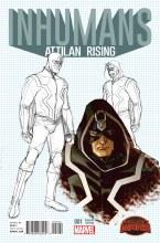 Inhumans Attilan Rising #2 Design Johnson Var