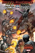 Age of Ultron vs Marvel Zombies #1 by Pacheco Poster