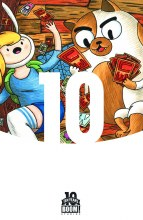 Adventure Time Fionna & Cake Card Wars #1 (of 6) 10 Incv (Ne