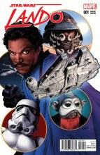 Star Wars Lando #1 (of 5) Greg Land Variant
