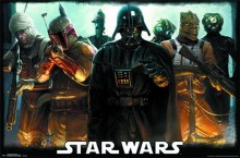 Star Wars Bounty Hunters Rolled Poster