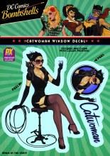 DC Bombshells Catwoman Px Vinyl Decal