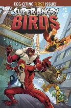 Angry Birds Super Angry Birds #1 (of 4) Subscription Var