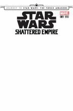 Journey Star Wars Force Awakens Shattered Empire #1 Blank Var