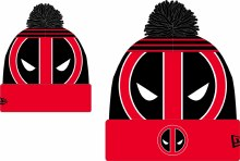 Marvel Heroes Deadpool Logo Whiz Knit Cap (C: 1-1-2)