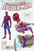 Amazing Spider-Man Vol 4 #1 Alex Ross Design Variant