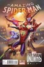 Amazing Spider-Man Vol 4 #1 Spider-Man Unlimited Game Variant
