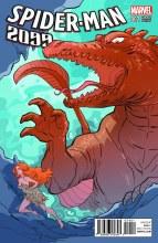 Spider-Man 2099 #2 Sauvage Kirby Monster Var