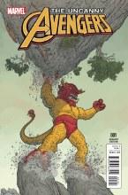 Uncanny Avengers #1 Darrow Kirby Monster Variant