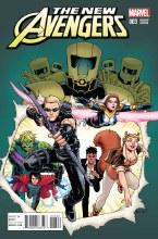 New Avengers #3 Burnham Var