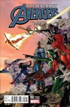 Uncanny Avengers #2 Jimenez Var