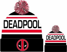 Marvel Heroes Deadpool Biggest Fan Knit Cap