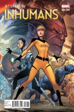 All New Inhumans #1 Cheung Connecting D Var