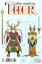 Mighty Thor #2 Dauterman Design Var