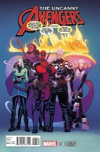 Uncanny Avengers #3 Moore Var