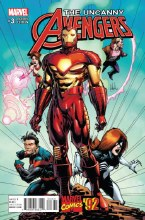 Uncanny Avengers #3 Portacio Marvel 92 Var