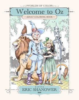 Worlds of Color Welcome To Oz Coloring Book