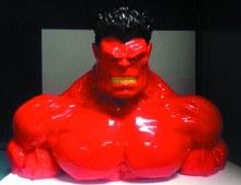 Red Hulk Ceramic Coin Bank (C: