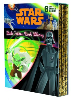Star Wars Little Golden Book Library Ed