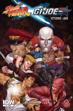 Street Fighter X Gi Joe #1 Of(6)