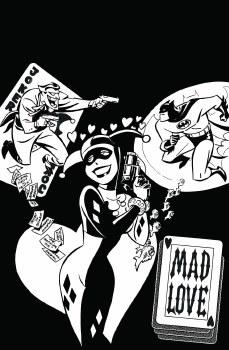 Batman Adventures Mad Love Coloring Book