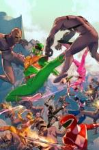 Mighty Morphin Power Rangers #1 Main Cover