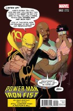 Power Man and Iron Fist #2 Sienkiewicz Variant