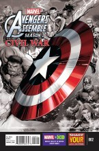 Marvel Universe Avengers Assemble Civil War #2