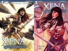 Xena Warrior Princess #1 Land Cover
