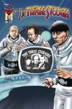 Three Stooges Boys Are Back #1 Talking Subscription Variant
