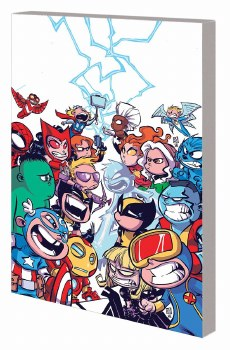 Little Marvel Standee Punch-Ou