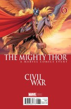 Mighty Thor #6 Chin Civil War