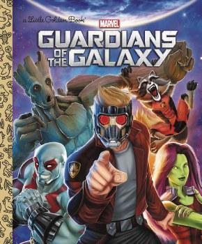 Guardians of Galaxy Little Golden Book