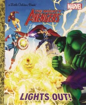 Mighty Avengers Lights Out Little Golden Book