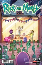 Rick & Morty #14 Incentive Variant Ganucheau