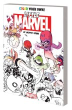Color Your Own Young Marvel By Skottie Young Coloring Book
