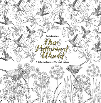 Our Patterned World A Coloring Journey Through Nature Coloring Book