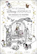 Art of Coloring Disney Animals HC