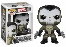 Pop Marvel Punisher [Nemesis] Vinyl Figure Damaged Box
