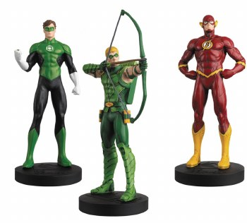 DC Masterpiece Figurine #6 Justice League Set 2 w/Collectors Mag