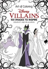 Art of Coloring Disney Villains HC