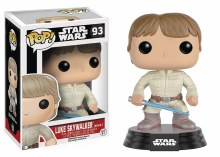 Pop Star Wars Luke Skywalker Bespin Vinyl Figure Box Damage