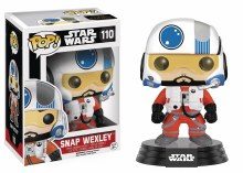 Pop Star Wars E7 Snap Wexley Vinyl Figure Box Damage